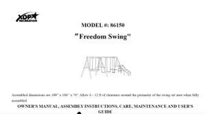 freedom-swing-xdp-style-81650-manual-image